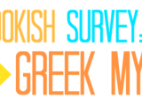 Book Survey: Greek Mythology Style!